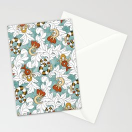 You and Me_Words in flowers Stationery Cards