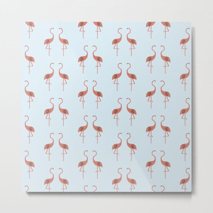Flamingo / Flamenco  Metal Print