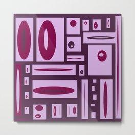 Fun With Creating Purple Play #decor #buyart #society6 Metal Print