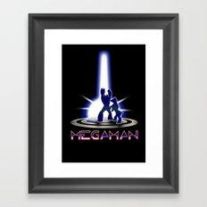 MEGATRON - Megaman | Tron | Nintendo | retrogames | 80's | vintage | retro | videogames | console Framed Art Print