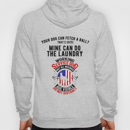 United States Service Dog For The Disabled And The Blind Hoody