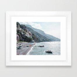 The Morning Coast Framed Art Print