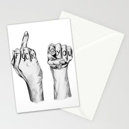 Fuck You Stationery Cards