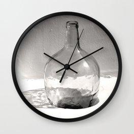 Still Life (Bottle) Wall Clock