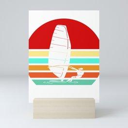 Sailing Vintage Sailor Retro Gift Mini Art Print