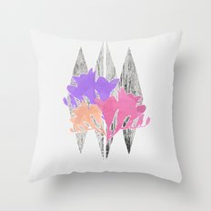 Freesia Throw Pillow
