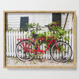 Key West Bike Serving Tray