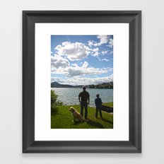 Doggy's Day Out Framed Art Print