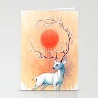 spring Stationery Cards featuring Spring Spirit by Freeminds