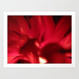Red Petals 81 Art Print
