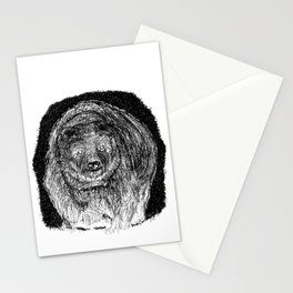 In the night Stationery Cards