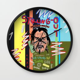 Dope Creates Monsters Circle Wall Clock