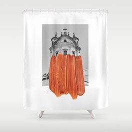 Intervention IV Shower Curtain