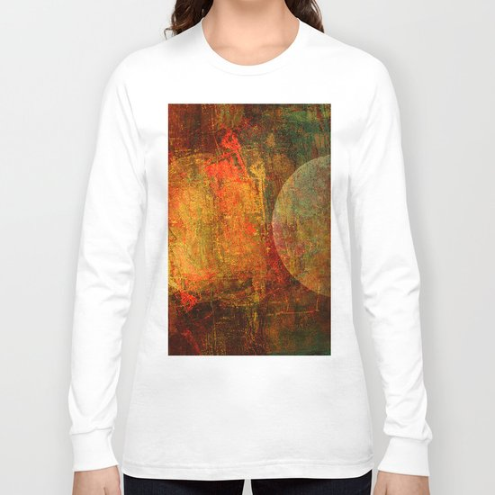 Abstract moons Long Sleeve T-shirt