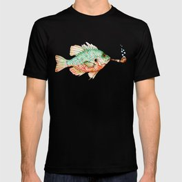 River Sunfish with a Pipe T-shirt
