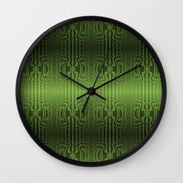 Good Green Vibrations Wall Clock