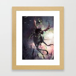 God of Travel Framed Art Print