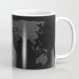 Retro world map Coffee Mug