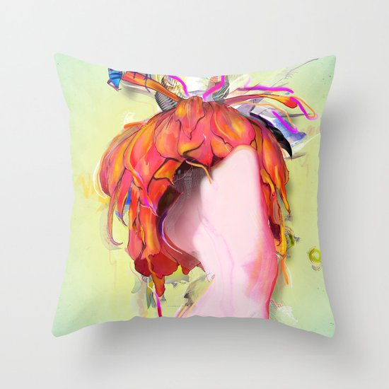Miere Throw Pillow