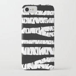 Night Birch iPhone Case