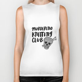 Murderino knitting club Biker Tank