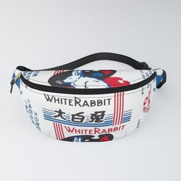 White Rabbit Creamy Candy Fanny Pack