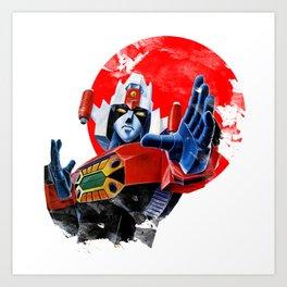 Daimos Gandam Japan Art Print