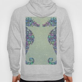 The Abstract Seahorses Hoody