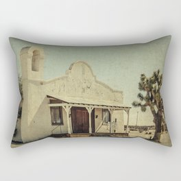 The Sanctuary Adventist Church a.k.a The Kill Bill Church Rectangular Pillow