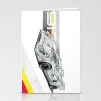 porsche Stationery Cards featuring Porsche 917K by sesven