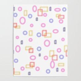 Pattern W1 Poster