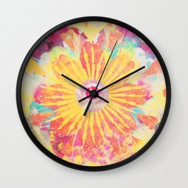 FlowerWaltz05 Wall Clock