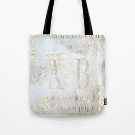 Artisan ABCs Tote Bag