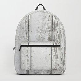 Wood Slatted plank fence background Backpack
