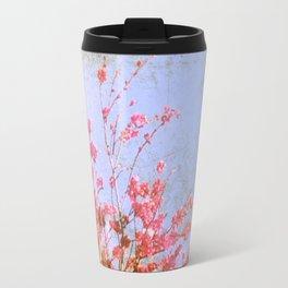 Pink Blossom Travel Mug