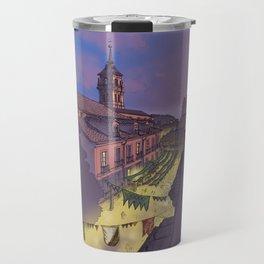 Medieval Fair (color) Travel Mug