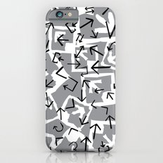pattern with abstract arrows iPhone 6s Slim Case