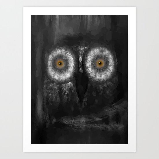 The Owl 5 Art Print