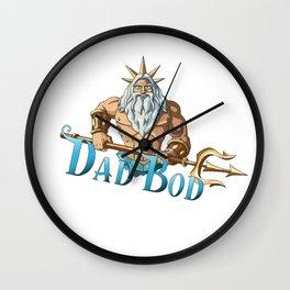 Dad Bod Wall Clock