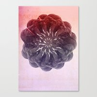 geometry Canvas Prints featuring geometry by PandaGunda