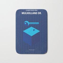 No323 My MULHOLLAND DRIVE minimal movie poster Bath Mat