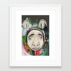 Creepy Framed Art Print