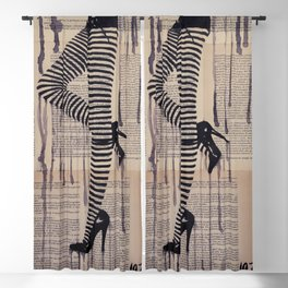 Strip trip Blackout Curtain