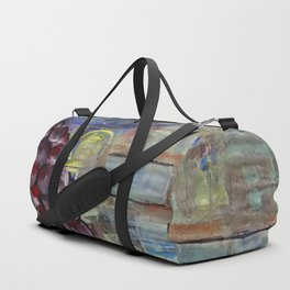 Wine collage Duffle Bag