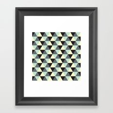 Geometric Pattern #174 Framed Art Print