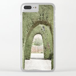 Tree Arches in Granada Clear iPhone Case