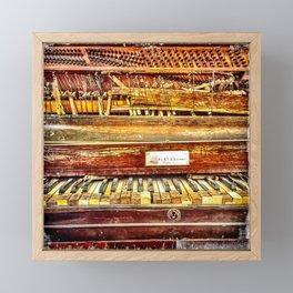 Piano Post-Katrina Framed Mini Art Print
