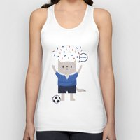 sports Tank Tops featuring Sports Cat by The Cat