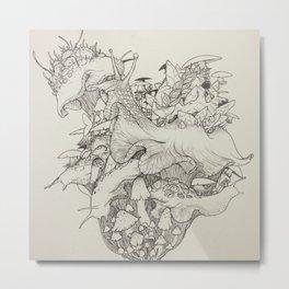 Slug Lord Metal Print