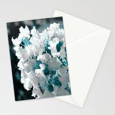 Popcorn flowers Stationery Cards